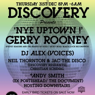 Discovery residents NYE magic carpet ride promo mix/ Horse and Groom 31/12
