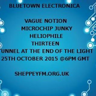 Bluetown Electronica live show 25.10.15