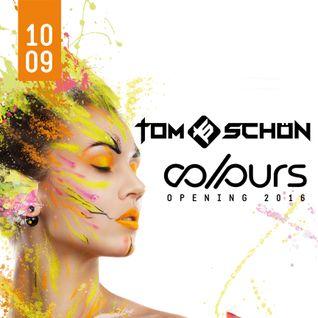 Tom Schön - COLOURS Opening Tanzhaus West Frankfurt 10-09-2016