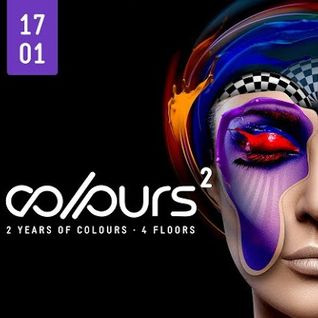 Tom Schön - 2 Years COLOURS @ Tanzhaus West Frankfurt 17-01-2015