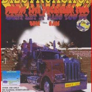Dizstruxshon - Christmas Party - Hull Freightliner, DJ Stu Allen MC Natz, Robbie C 16-12-1994
