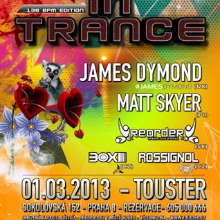ReOrder live @ In Trance [Touster Club & Lounge - Prague/CZ] 01/03/2013