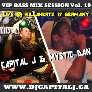 DJ CAPITAL J & MYSTIC DAN - LIVE @ KILLA HERTZ 17 GERMANY