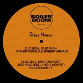 Jammin Gerald @ Dance Mania Boiler Room Chicago DJ Set 25-02-2014