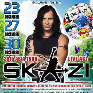 ** DJ PHB - Live set @ Waterfall Party (Koh Phangan/Thailand) - December 2015 **