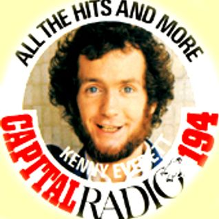 Kenny Everett on CFM (Capital Radio 95.8FM opt out) Summer 1987 remembering 1967