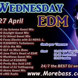 Daylight Radio 6 - MoreBass Guest Mix Special 27/04/16