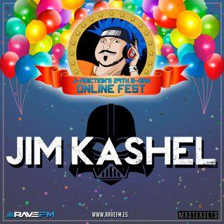 Jim Kashel @ J-adiction's 29th B-Day Online Fest (01/07/2016) www.ravefm.es