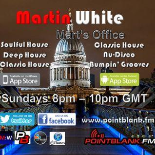 24.07.16 Martin White Mart's Office Point Blank FM