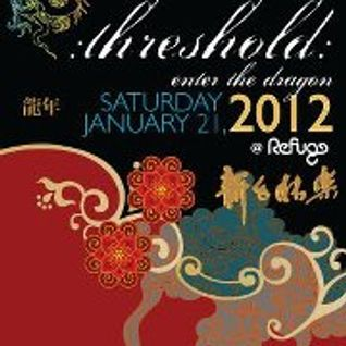 Global Ruckus Live at Refuge - Threshold 2012 - Enter The Dragon - Chinese/Asian Inspired SunriseSet
