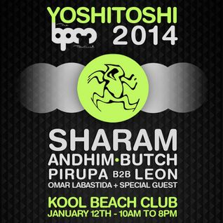 Sharam @ The BPM Festival 2014 - Yoshitoshi Showcase (12-01-14)