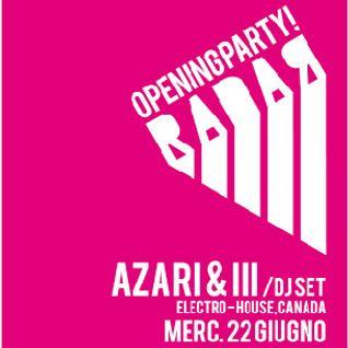 Radar Festival Mixtape - Waiting for Azari & III