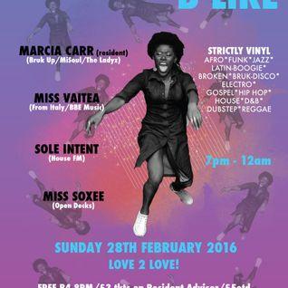 Marcia's MiXedBag | 22-02-16 | Mi-Soul radio