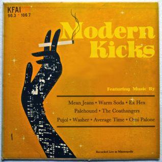 Modern Kicks on KFAI - 03/26/2014