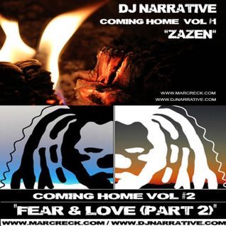 Dj Narrative Rhubarb Radio Show 1 - Zazen & Fear & Love Part 2 - Jan 2014