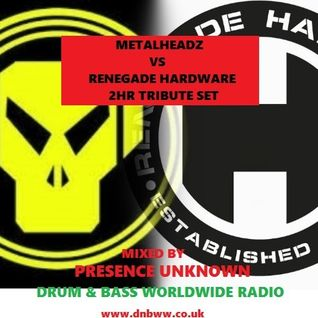 (METALHEADZ VS HARDWARE) presence unknown DNBWW radio show (tribute set) 09.04.2015