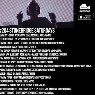 #204 StoneBridge Saturdays
