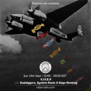 V.I.V.E.K w/ Dubdiggerz, System Roots & Dego Ranking - 18th September 2016