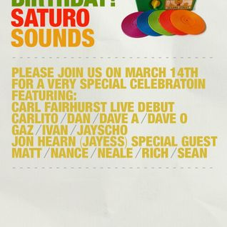 Carlito Briganti - Saturo Sounds 1st Birthday - Resident Day Mix - March 2015