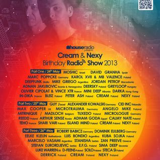 Adham Goda - Guest Mix For Cream And Nexy B-Day  [ May 2013 ] On houseradio.pl