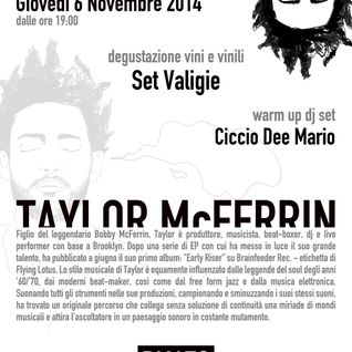 Ciccio Dee Mario warm up DJ set for Slow Fusion @ Rialto Roma Nov. 6th 2014
