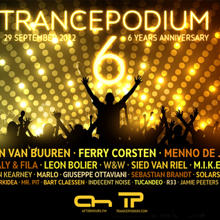 22 Jamie Peeters @ Trance Podium 6th Anniversary Celebration (29-09-2012)