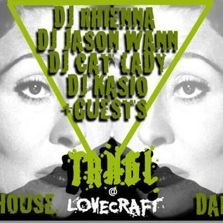Dj rhienna | TRNGL | live set @ the lovecraft | june 2013 set 2