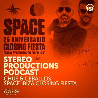 WEEK44 2014 :: Chus & Ceballos Live From Space Ibiza Closing Fiesta
