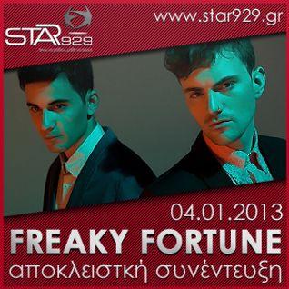 FREAKY FORTUNE : STAR FM 92.9 ΑΠΟΚΛΕΙΣΤΙΚΗ ΣΥΝΕΝΤΕΥΞΗ