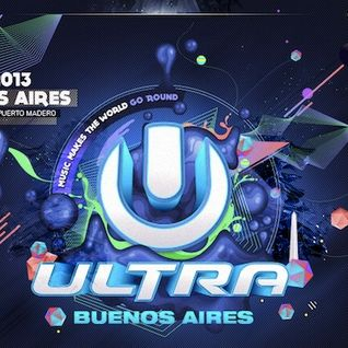 HARDWELL Ultra Music Festival Buenos Aires 2013