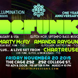 Live from The Cage - Illumination Presents 1 Year Anniversary Party 20/11/15