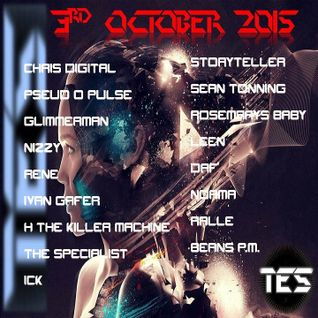 TES Radio UK Pilot Resident Mix 10-3-2015