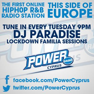 LOCKDOWN SESSIONS WITH DJ PARADISE FOR POWER RADIO CYPRUS (25.10.2012)