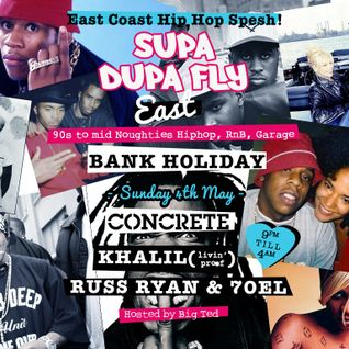 East Coast Hiphop mix by Russ Ryan for Supa Dupa Fly at Concrete 04.05.14