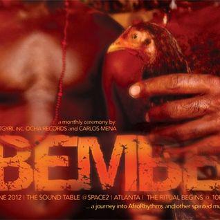 Live @ BEMBE ATLANTA: MIXED DJ AUSAR ALONGSIDE CARLOS MENA