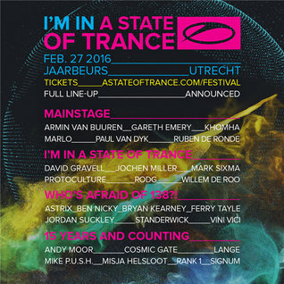 Lange - Live @ A State Of Trance 750, 15 Years and Counting (Utrecht) - 27.02.2016