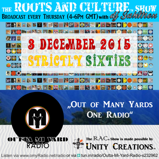 Strictly 60ties Vibes on the 51st Roots & Culture show