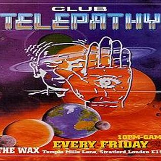 Brockie & Devious D Telepathy 'Friday At The Wax Club' 1994