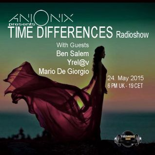 Ani Onix - Time Differences 165 [24-May-2015] On TM-Radio