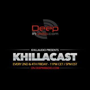 KhillaCast #023 8th May 2015 - Deepinradio.com