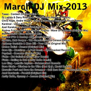Dave The Drummer DJ MIX March 2013