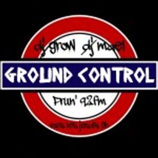 Podcast Ground-Countrol du 27/02/14 avec dj Grow et Dami1 aux platines !!!