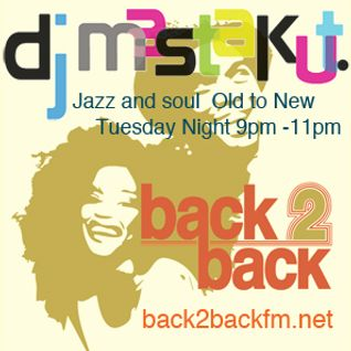 2016/07/12 DJ Mastakut Show on Back2Back fm.net