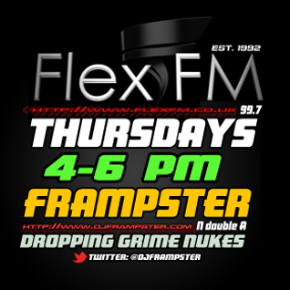 Frampster, Typah & Uncle Dreama (N double A) - Live on Flex 99.7FM - (16/02/2012)