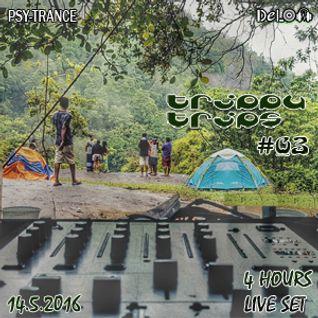 DJ Delon - Trippy Trips [Episode # 03 - Nittambuwa] (Live Set 14.05.2016)