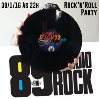 DJ GUSS - Rock n Roll Party - Jan 2016 - 89 A Rádio Rock
