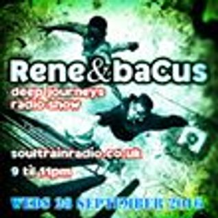 Rene & Bacus Radio Show wednesday 28th Sep 2016 9-11pm Soultrainradio.co.uk