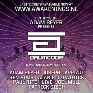 Joel Mull - Live @ ADE Drumcode (Awakenings Gashouder) - 18.10.2012