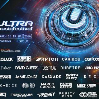 Cedric Gervais - Live @ Ultra Music Festival 2016 (Miami) - 19.03.2016