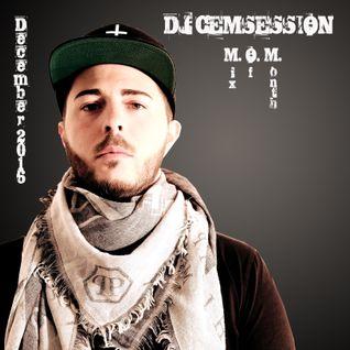 DJ CEMSESSION - Mix Of Month December 2016